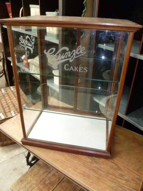 Antique Kunzle Cake Shop Display Cabinet Very Rare Model