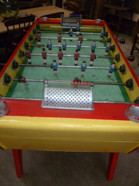 Vintage French Stella Artois Championship Table Football
