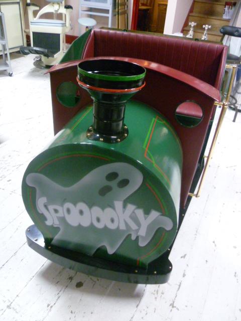 Antique Supercar Fairground Ghost Train Eras Of Style