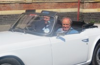 ANTIQUE CELEBRITY ROAD TRIP VISIT US IN BEXHILL AGAIN WITH JAMES BRAXTON & JAMES BOLAM