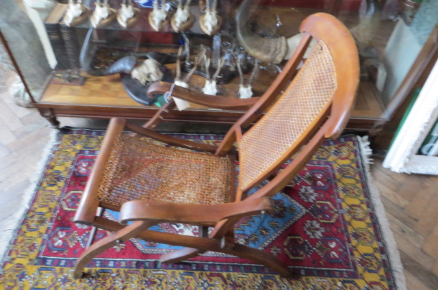 016 017 018 019 ... - ANTIQUE BERGERE FOLDING STEAMER CHAIR - Eras Of Style Eras Of Style