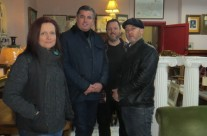 SALVAGE HUNTERS FILMED HERE WITH DREW PRITCHARD AND T LAST WEEK FOR NEW SERIES