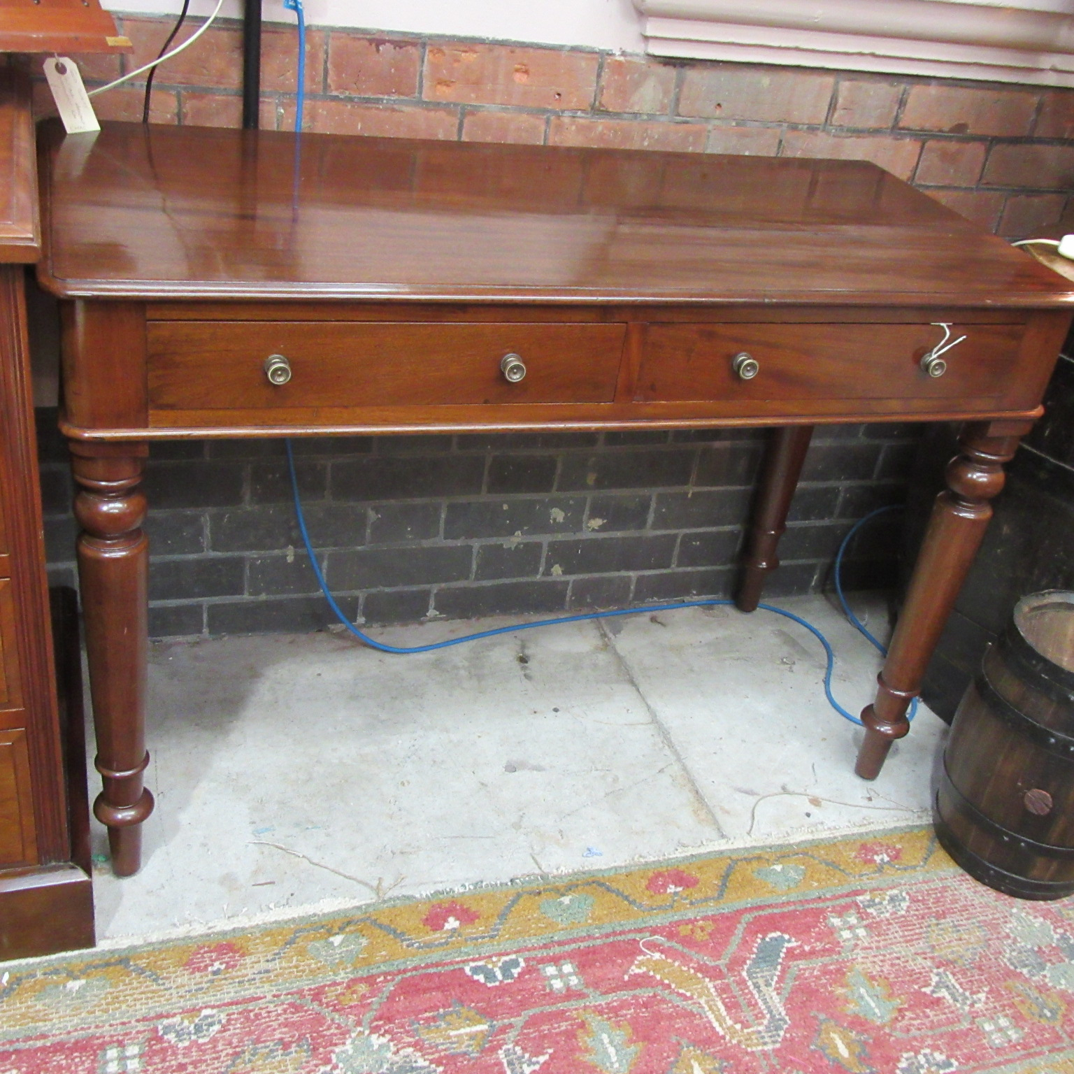 Related Antiques - ANTIQUE MAHOGANY WRITING DESK - Eras Of Style Eras Of Style