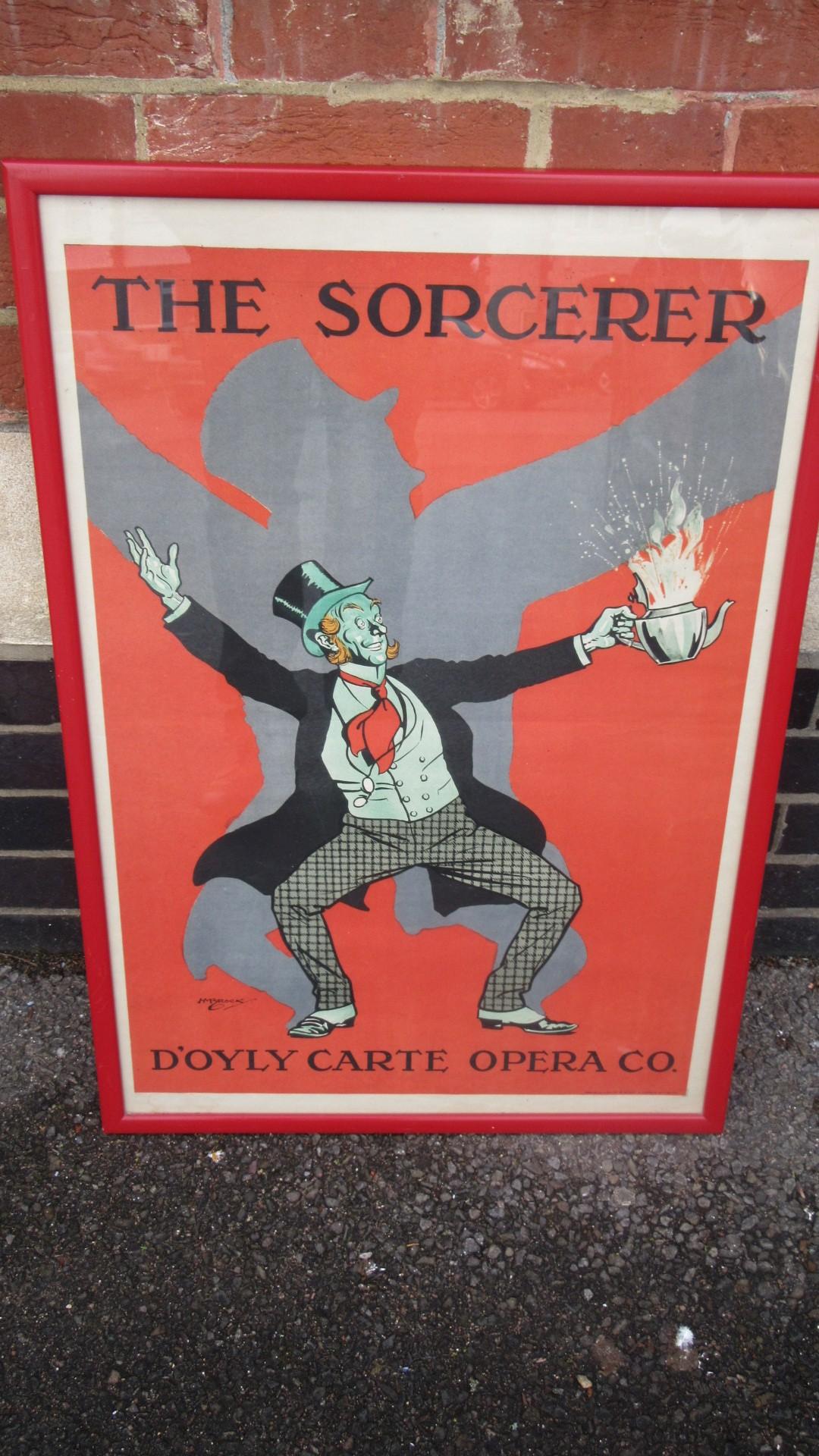 Vintage Doyle Carte Opera Poster Eras Of Style Eras Of