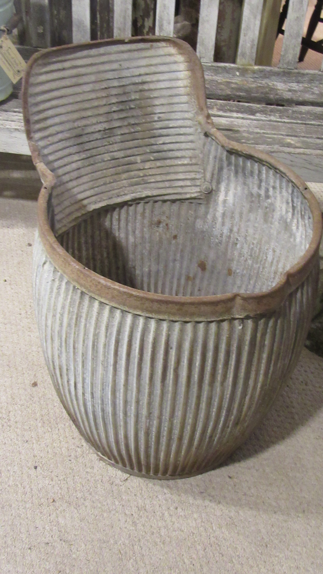 VINTAGE 1920S DOLLY TUB RARE MODEL
