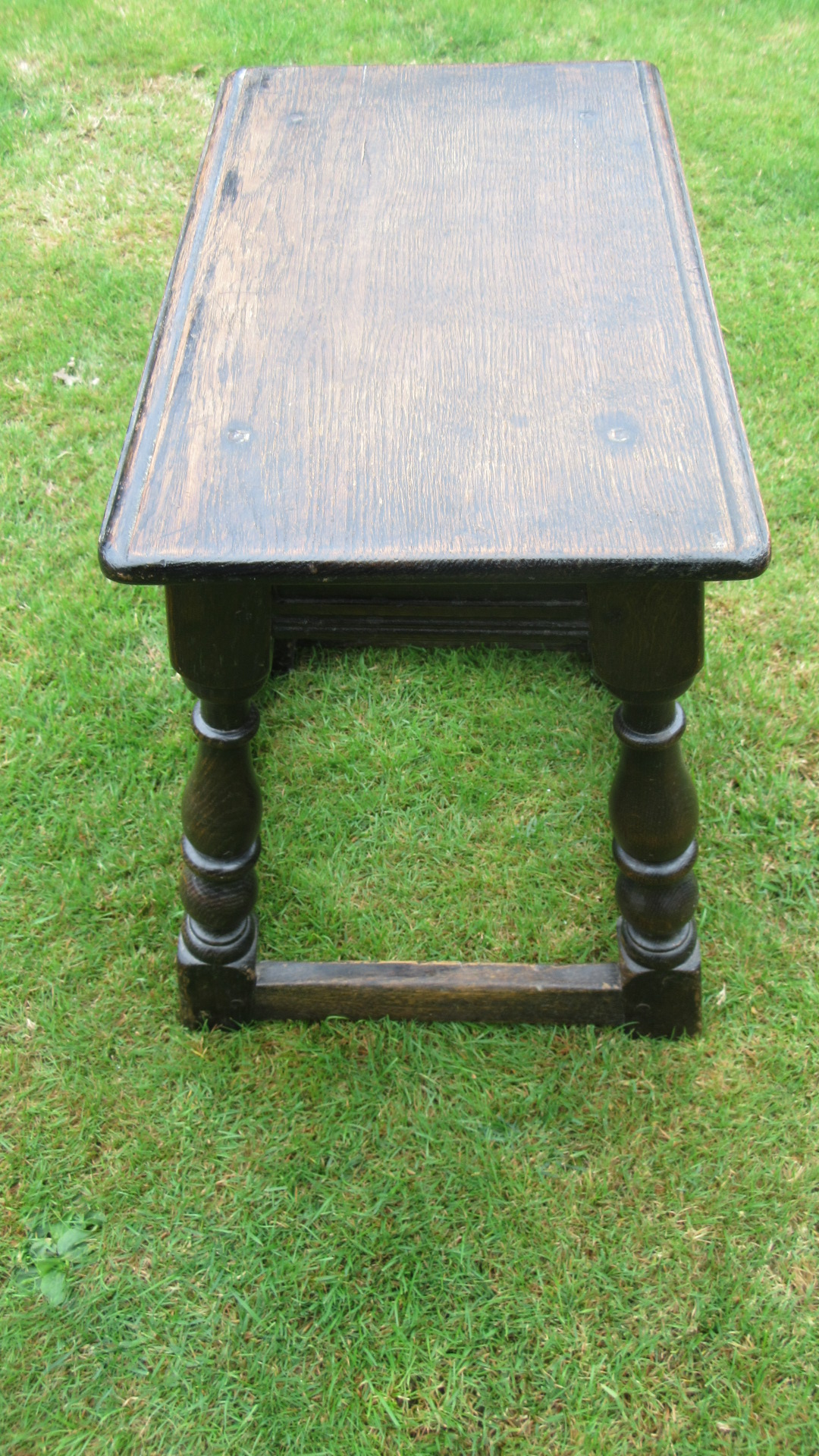 ANTIQUE COUNTRY OAK JOINT STOOL