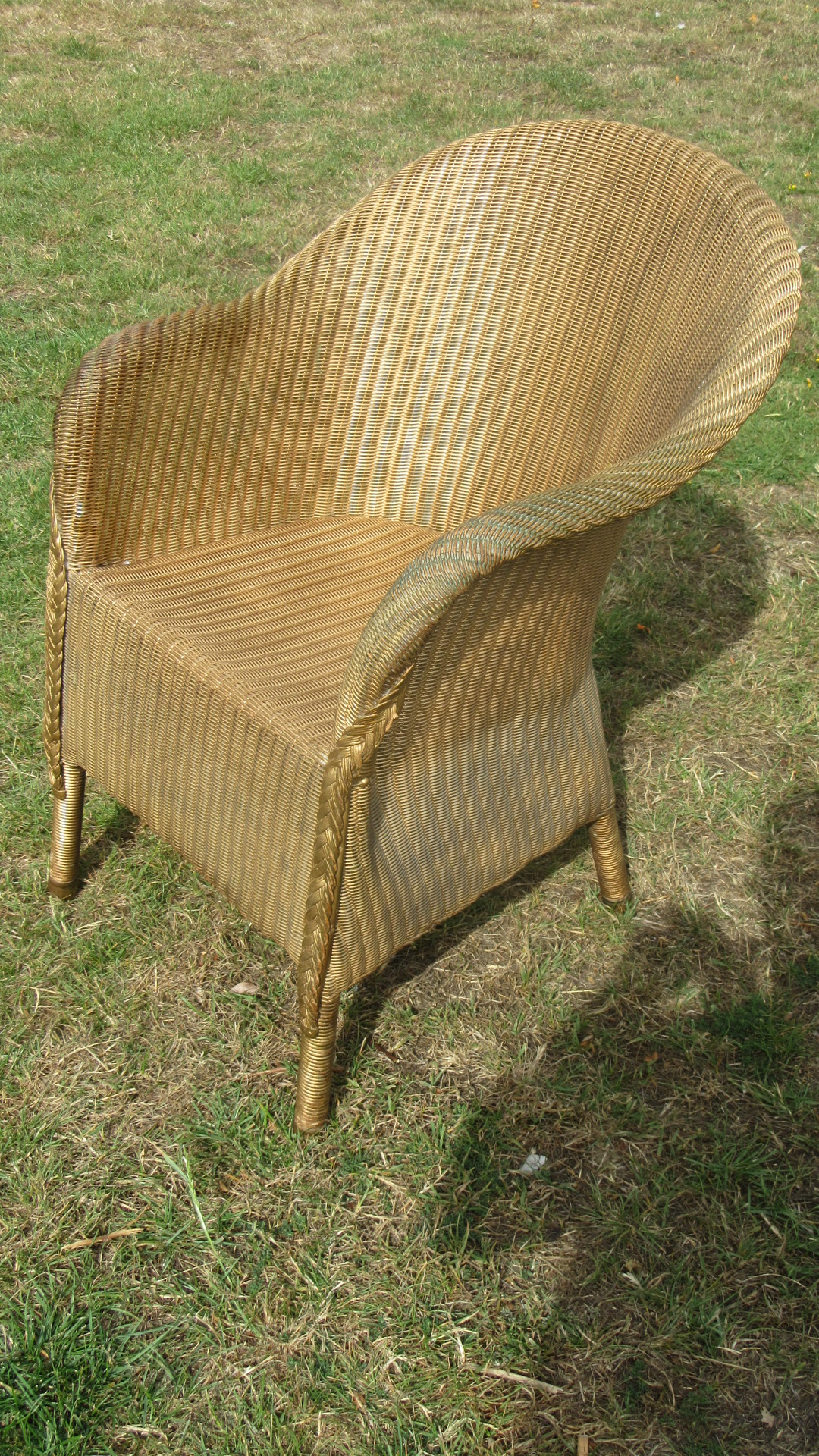 1930S LLOYD LOOM CHAIR