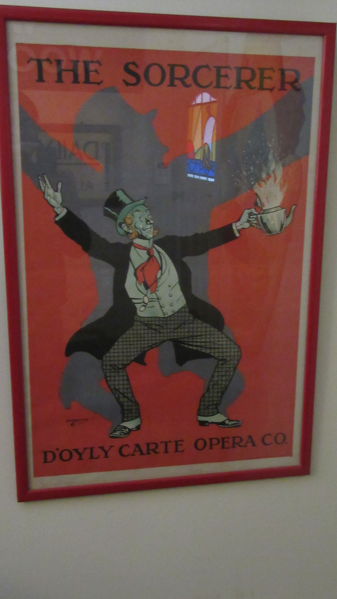 VINTAGE DOYLY CARTE ADVERTISING POSTER